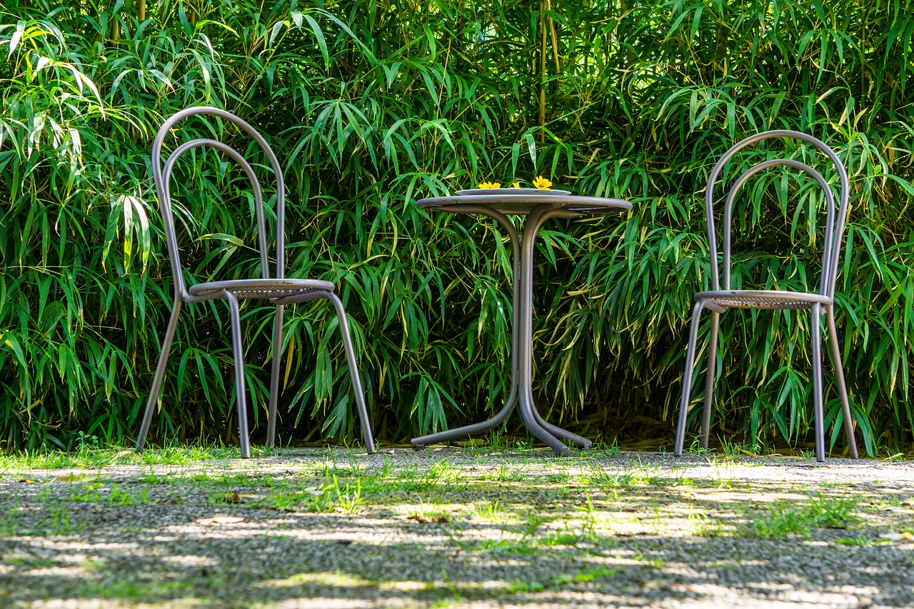 Metal garden furniture – how to take care of it?